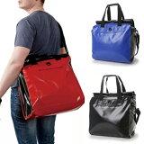 【在庫限り】ZAT ラージトートバッグ 全3カラー無縫製バッグ/防水素材/カバン/トート/大きい/メッセンジャーバッグ/通勤/通学/自転車/A4