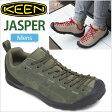・キーン KEEN ジャスパー アウトドアスニーカー[ブラックフォレスト/クライミングアイビー]KEEN JASPER メンズ(男性用)【靴】_11703E(trip)