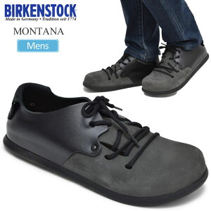 【SALE/50%OFF 半額】ビルケンシュトック BIRKENSTOCK モンタナ MONTANA【バサルト/ブラック】(GS1008029/25-28cm)メンズ【靴】_1910trip【返品交換・ラッピング不可】 _2020sale
