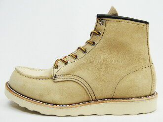 RED WING Red Wing 8173 CLASSIC WORK classic work MOC-TOE mock-to the hawthorne abilene roughout Hawthorne アビレーン roughout