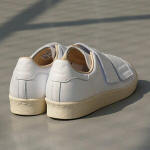 adidasOriginalsSS80sVELCROW【アディダスオリジナルススーパースター80sベルクロウィメンズ】runningwhite/runningwhite/linen(ランニングホワイト/ランニングホワイト/リネン)CQ244718SS