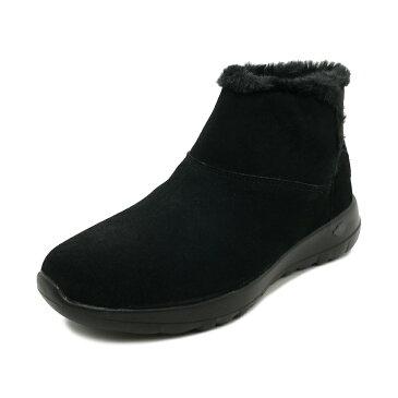 スニーカー スケッチャーズ SKECHERS オンザゴージョイ ブラック レディース シューズ 靴 18FW