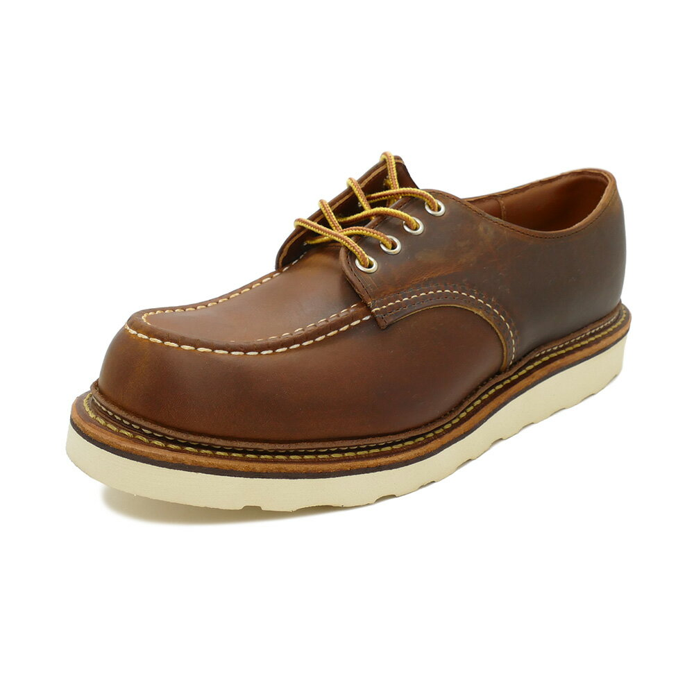 ブーツ, ワーク RED WING 8095 Work Oxford Moc-toe 8095 Copper RoughTough