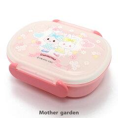 マザーガーデンうさもも1段お弁当箱《お花レース柄》一段ランチボックス日本製食洗機対応電子レンジOK
