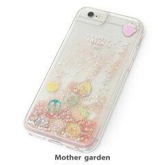 マザーガーデンこぴよフレンズiPhone8・7・6・6s対応スマートフォンケース《桃色》スマホカバースマホケースキラキララメ