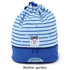 4月中旬入荷予定マザーガーデンくまのロゼット巾着リュック型