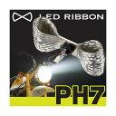 ★送料無料★LED RIBBON LEDヘッドライトバルブ APE/Monkey PH7型 TYPE1 サインハウス(00078640)