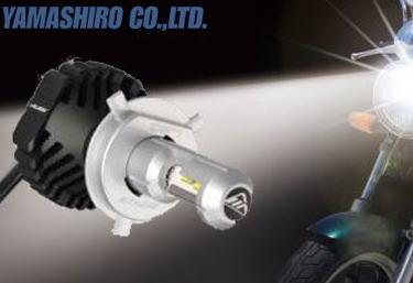 ライト・ランプ, LED IPFYAMASHIRO141HLBM495149901 8235LED MOTO H4 HILO 6500K LED dsled04m