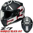 ★送料無料★ SHOEI Z-7 マルケス ブラックアント フルフェイスヘルメット MARQUEZ BLACK ANT