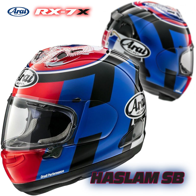 バイク用品, ヘルメット  RX-7X SB HASLAM SB Arai HELMET