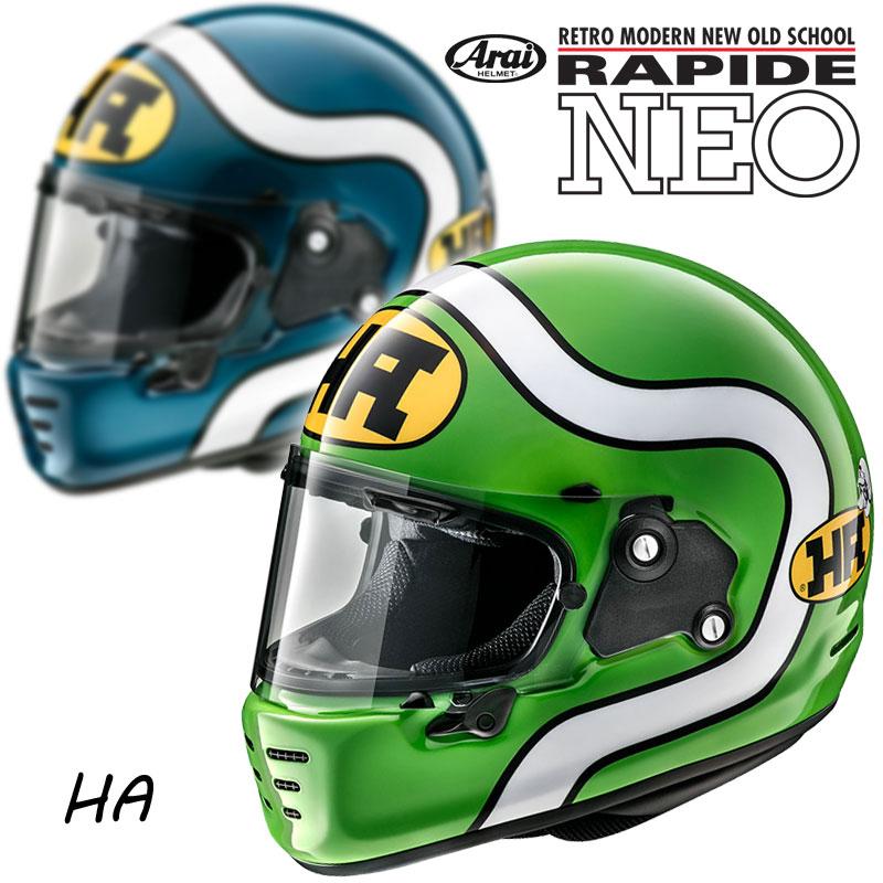 バイク用品, ヘルメット ARAIRAPIDE NEO HA HA