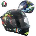 ★送料無料★AGV K-1 WHITE ZOO MotoGP バレンティーノ・ロッシ選手レプリカ《山城限定カラー》バイク/オートバイ用 フルフェイス / ヘルメット