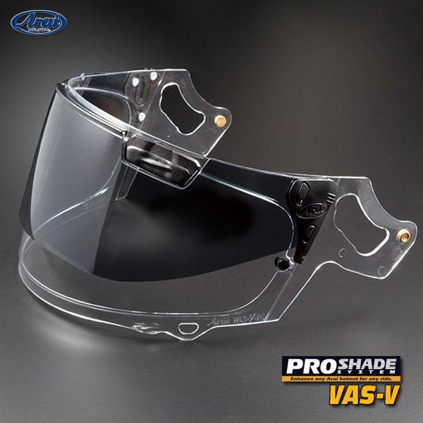 ヘルメット用アクセサリー・パーツ, シールド Arai RX-7X 1070 VAS-V PRO SHADE SYSTEM