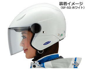 SF-5Dリーウィンズバイク用ジェットヘルメットヤマハ(ワイズギア)SF-5DLeaWinds/SF-5DLeaWinds