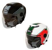 スピード デザイン シールド ジェット ヘルメット