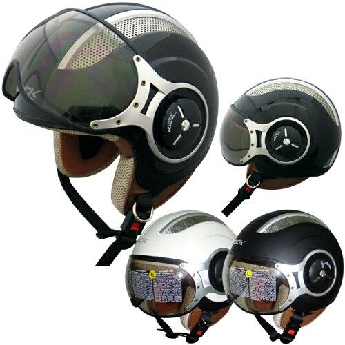完売 TNK工業 スピードピット SPEEDPIT ZQ-8 シールド付き パイロットタイプ ジェットヘルメット