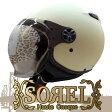 今だけ★送料無料!シレックス SOREL(ソレル) レディースサイズ ジェットヘルメット マットシャインアイボリー 681712