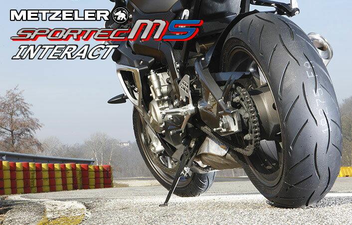 タイヤ, オンロード用タイヤ 12070ZR1719055ZR17 M5 METZELER SPORTEC M5 INTERACT