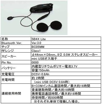 サインハウスB+COMSB4XLite(ライト)ワイヤーマイクユニット00078558