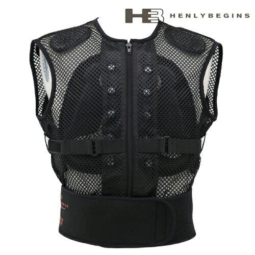 デイトナ ヘンリービギンズ ボディインナープロテクター(ベスト型プロテクター) HenlyBegins DP-...