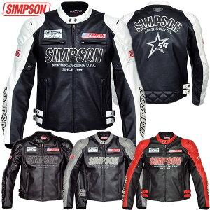 【2014秋冬】★送料無料★ シンプソン フェイクレザージャケット SJ-4134 SIMPSON Fake Leather...