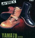 ★限定特価!送料無料★AVIREX AV2100 YAMATOサイドジッパー式 ライダースブーツ