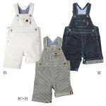 デニム☆オーバーオールト〈S-M(70cm-90cm)〉