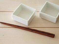 白い食器 十字のサイコロみたいな小さな小鉢<大> ホワイトレベル2【美濃焼・食器%OFF・訳...