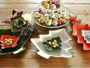 洋食器 3色ツリープレート32.2cm【美濃焼/食器/おしゃれ/訳あり/アウトレット/プレート/クリスマス/カフェ風/cafe風】の写真