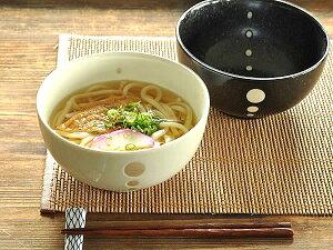和食器 水玉ドットうどん鉢【...