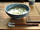 和食器 古染たこ唐草麺鉢<藍染>【美濃焼/食器/訳あり/アウトレット込...