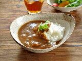 食器 パスタ皿 カレー皿 おしゃれ 和食器 モダン 美濃焼 ボウル アウトレット カフェ風 渕茶うのふ粉引変形多用鉢