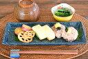 和食器 スジ彫り長角サンマ皿【美濃焼/食器/おしゃれ/訳あり...