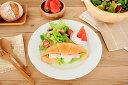 食器 パスタ皿 おしゃれ 美濃焼 大皿 丸皿 ミート皿 アウトレット カフェ風 白 基本のベーシック23.5cmミート皿の写真