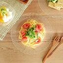 食器 パスタ皿 おしゃれ ガラス 強化ガラス スープ皿 冷やし中華 冷麺 カフェ風 DURALEX PARIS スーププレートの写真