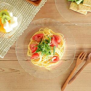 食器 パスタ皿 おしゃれ ガラス 強化ガラス スープ皿 冷やし中華 冷麺 カフェ風 DURALEX PARIS スーププレート