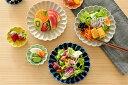 食器 取り皿 おしゃれ 和食器 モダン 中皿 美濃焼 プレート 銘々皿 花形 花型 アウトレット カフェ風 9色菊形中皿 2