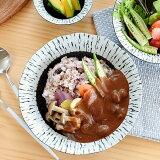 食器 カレー皿 パスタ皿 おしゃれ 和食器 モダン 美濃焼 大皿 麺皿 アウトレット カフェ風 黒潮7.0深皿