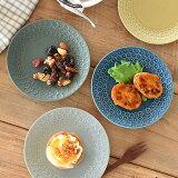 食器 取り皿 おしゃれ 中皿 美濃焼 プレート 丸皿 印花 花柄 フラワー アウトレット カフェ風 フルール16.5cmプレート