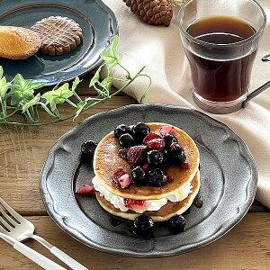 食器 取り皿 おしゃれ 中皿 美濃焼 プレート ケーキ皿 丸皿 アウトレット カフェ風 クリスタケーキ皿19.5cm