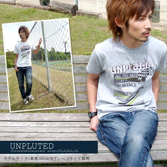 ★ ♪ UNPLUTED mi-215. ne-sorted limited message T shirt 10P13oct13_b