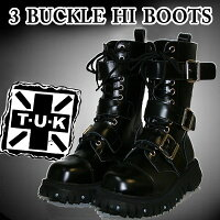 TUK3BUCKLEHIBOOTST・U・K3バックルレースアップブーツA6055【あす楽対応】【smtb-td】【送料無料】
