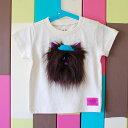 子供服男の子女の子TシャツT-shirt猫ねこキャットかわいい個性的おもしろい立体的プレゼント出産祝いリンクコーデ80サイズ90サイズ100サイズ110サイズキッズ ベビー kids baby【moja cat】