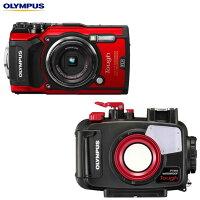 【OLYMPUS】オリンパスTG-5+PT-058水中カメラセット