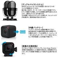 【GoPro(ゴープロ)】HERO4SESSIONセッション【アクションカメラ】【日本正規品】【送料無料】【10P16Jul15】