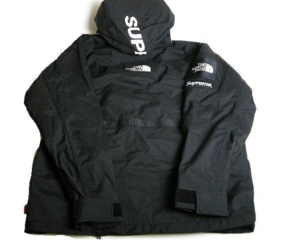 【サイズS】【2016SS Supreme/シュプリーム/The North Face Steep Tech RAIN SHELL Hooded Jacket/ノースフェイス スティープレインシェルフーデッドジャケット/マウンテンジャケット/マウンテンパーカー/16SS/ブラック/BLACK/黒/メンズ/国内正規品】