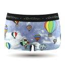 DARK SHINY[レディース]Ladies' Boxer Briefs - balloon Printing(下着 メンズ 下着 レディース インナー アンダーウェア おしゃれ オシャレ パンツ アンダーウェア レディース)[ネコポス対応可]
