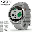 MICHIMATA ver.Rで買える「GARMIN Approach S40 Gray 010-02140-20ガーミン アプローチ グレー ゴルフ ランニング サイクリング スイム スポーツ アウトドア[時計 スマートウォッチ ウェアラブル GPS 防水]」の画像です。価格は34,800円になります。