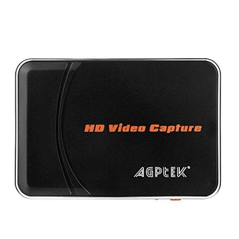 AGPtEK ゲームキャプチャー*ゲームレコーダー ビデオキャプチャー*ビデオレコーダー 1080p対応小型ビデオキャプチャーデバイス 実況