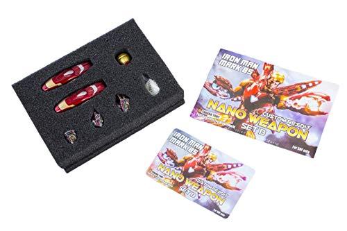 Tony1/12スケールフィギュアSHFアイアンマンマーク85(アベンジャーズ/エンドゲーム)改造用ヘッド武器パーツセット